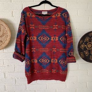 Denim & Supply Ralph Lauren Vintage Aztec Sweater
